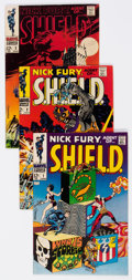 Silver Age (1956-1969):Superhero, Nick Fury, Agent of S.H.I.E.L.D. #1-3 Group (Marvel, 1968).... (Total: 3 Comic Books)