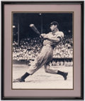 Autographs:Photos, Joe DiMaggio Signed Oversized Limited Edition Photograph. . ...