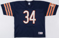 Autographs:Jerseys, Walter Payton Signed Chicago Bears Jersey. ...