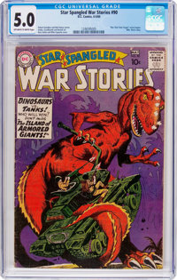Star Spangled War Stories #90 (DC, 1960) CGC VG/FN 5.0 Off-white to white pages