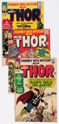 Silver Age (1956-1969):Superhero, Journey Into Mystery Group of 12 (Marvel, 1962-65) Condition: Average VG.... (Total: 12 Comic Books)