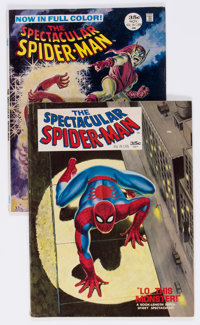 Spectacular Spider-Man #1 and 2 Group (Marvel, 1968) Condition: VG.... (Total: 2 Comic Books)