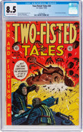 Golden Age (1938-1955):War, Two-Fisted Tales #28 (EC, 1952) CGC VF+ 8.5 Cream to off-whitepages....