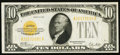 Small Size, Fr. 2400 $10 1928 Gold Certificate. Very Fine-Extremely Fine.. ...
