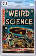 Golden Age (1938-1955):Science Fiction, Weird Science #16 (EC, 1952) CGC VF- 7.5 Cream to off-whitepages....