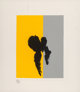 Robert Motherwell (1915-1991) Paris Suite II, Summer, 1980 Lithograph in colors on J. B. Green Hot Press handmade pape...