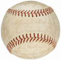 Autographs:Baseballs, Los Angeles Dodgers Team Signed Baseball (25 Signatures) from theBeans Reardon Collection.. ...
