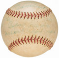 Autographs:Baseballs, Beans Reardon Signed Inscribed World Series Baseball from the Beans Reardon Collection.. ...