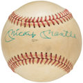 Autographs:Baseballs, Mickey Mantle Single Signed 1980 All-Star Game Baseball.. ...