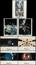 "Movie Posters:Science Fiction, 2001: A Space Odyssey (MGM, 1968). British Front of House ColorPhotos (14) & Photo (8"" X 10""). Science Fiction.. ... (Total:15 Items)"