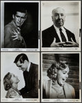 """Movie Posters:Hitchcock, Psycho (Paramount, R-1965). Overall: Very Fine-. Photos (9) (8"""" X10"""") with Original Studio Envelope. Hitchcock.. ... (Total: 10Items)"""