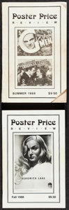 """Movie Posters:Miscellaneous, Poster Price Review Lot (PPR, 1988). Soft Cover Books (2) (Multiple Pages, 5.5"""" X 8.5""""). Miscellaneous.. ... (Total: 2 Items)"""