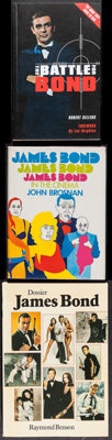 Battle for Bond & Other Lot (Tomahawk Press, 2008). Very Fine. British Paperback Book, Swedish Paperback Book &a...