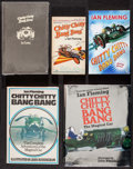 "Movie Posters:Fantasy, Chitty Chitty Bang Bang Book Lot (Various, 1968 - 2008). Autographed British Hardcover Book (8.5"" X 10""), Paperback Books (4... (Total: 5 Items)"