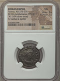 Ancients:Ancient Lots , Ancients: ANCIENT LOTS. Roman Imperial. Ca. AD 275-282. Lot ofthree (3) BI issues. NGC VG-Choice AU.... (Total: 3 coins)