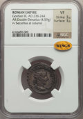Ancients:Ancient Lots  , Ancients: ANCIENT LOTS. Roman Imperial. Ca. AD 238-251. Lot ofthree (3) AR antoniniani. NGC VF-Choice XF.... (Total: 3 coins)