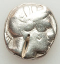 Ancients:Greek, Ancients: ATTICA. Athens. Ca. 440-404 BC. AR tetradrachm (16.84gm). Fine, bankers marks, test cuts....