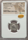 Ancients:Ancient Lots , Ancients: ANCIENT LOTS. Roman Imperial. Ca. AD 193-217. Lot of two(2) AR denarii. NGC Choice XF-AU.... (Total: 2 coins)