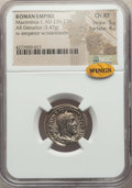 Ancients:Ancient Lots  , Ancients: ANCIENT LOTS. Roman Imperial. Maximinus I (AD 235-238).Lot of two (2) AR denarii. NGC Choice XF.... (Total: 2 coins)