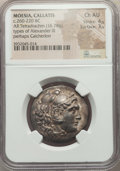 Ancients:Greek, Ancients: MOESIA. Callatis. Ca. 260-220 BC. AR tetradrachm (16.78gm). NGC Choice AU 4/5 - 3/5....
