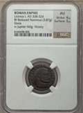 Ancients:Ancient Lots  , Ancients: ANCIENT LOTS. Roman Imperial. Ca. AD 305-324. Lot of two(2) BI issues. NGC AU-Choice AU.... (Total: 2 coins)