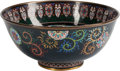 Asian, A Japanese Cloisonné Enamel Bowl. 8-1/2 inches wide (21.5 cm)...