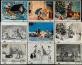 """Movie Posters:Animation, Lady and the Tramp (Buena Vista, 1955). Photos (13) & Color Photos (4) (8"""" X 10""""). Animation.. ... (Total: 17 Items)"""