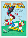 "Movie Posters:Animation, Donald's Golf Game (Circle Fine Art, R-1980s). Fine Art Serigraphs (5) (Identical) (22.5"" X 30.5""). Animation. ... (Total: 5 Items)"
