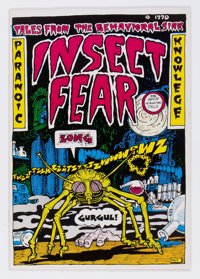 Insect Fear #1 (Print Mint, 1970) Condition: VF/NM