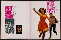 """West Side Story Lot (United Artists, 1961). Program (Multiple Pages, 9"""" X 12"""") & Promotional Materials (32..."""