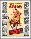 """Movie Posters:Western, Hop-a-long Cassidy Centennial (Richard Feiner and Company, 1995). Autographed Limited Edition Print (17.5"""" X 22.25""""). Wester..."""
