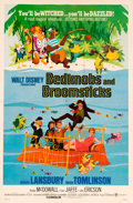 Memorabilia:Poster, Bedknobs and Broomsticks Theatrical Poster (Walt Disney/Buena Vista, 1971)....