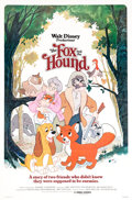 Memorabilia:Poster, The Fox and the Hound Theatrical Poster (Walt Disney/BuenaVista, 1981)....