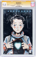 Modern Age (1980-Present):Science Fiction, Descender #1 Variant Cover - Signature Series (Image, 2015) CGCNM/MT 9.8 White pages....