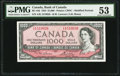 Canadian Currency, BC-44d $1000 1954.. ...