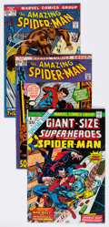 Bronze Age (1970-1979):Superhero, The Amazing Spider-Man Group of 76 (Marvel, 1972-95) Condition: Average FN/VF.... (Total: 76 Comic Books)