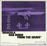 """Dracula Has Risen from the Grave (Warner Brothers, 1969). Six Sheet (78.5"""" X 80""""). Horror"""