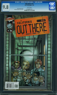 Out There #1 (DC, 2001) CGC NM/MT 9.8 WHITE pages