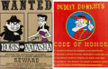 Animation Art:Limited Edition Cel, Boris and Natasha/Dudley Do-Right Metal Sign Group (c. 1990s)....(Total: 2 Items)