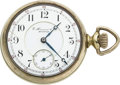 Timepieces:Pocket (post 1900), E. Howard Watch Co. Boston Rare 21 Jewel Split Plate L Size. ...