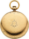 Timepieces:Pocket (pre 1900) , United States Watch Co. G.A. Read Marion N.J. Key Wind...