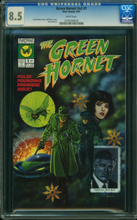 The Green Hornet V2#1 (Now Comics, 1991) CGC VF+ 8.5 WHITE pages