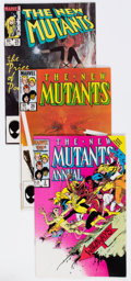 Modern Age (1980-Present):Superhero, The New Mutants Half Short Box Group (Marvel, 1983-91) Condition: Average NM-....