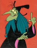 Animation Art:Production Cel, Off to See the Wizard Wicked Witch of the West Production Cel (MGM, 1967)....