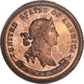 Patterns, 1869 10C Standard Silver Ten Cents, Judd-704, Pollock-783, R.7, PR65 Red and Brown PCGS. CAC....