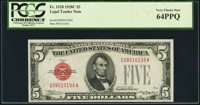 Fr. 1528 $5 1928C Legal Tender Note. PCGS Very Choice New 64PPQ