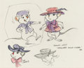 Animation Art:Concept Art, The Rescuers Down Under Miss Bianca Character Design Art(Walt Disney, 1990)....