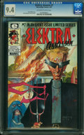 Modern Age (1980-Present):Superhero, Elektra Assassin #7 (Marvel/Epic Comics, 1987) CGC NM 9.4 OFF-WHITE TO WHITE pages.