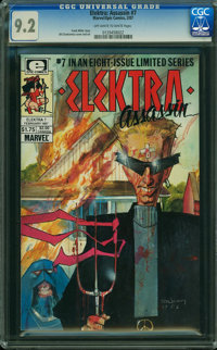 Elektra Assassin #7 (Marvel/Epic Comics, 1987) CGC NM- 9.2 OFF-WHITE TO WHITE pages