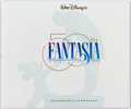 Animation Art:Limited Edition Cel, Fantasia Program Book Group of 5 (Walt Disney, 1990). ...(Total: 5 Items)